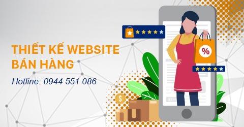 Thiết kế Website bán hàng Thiên Minh