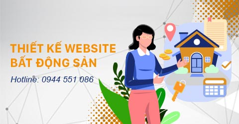 Thiết kế website bất động sản tại Thiên Minh - www.tmiweb.vn