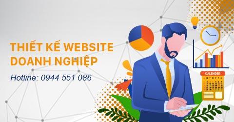 Thiết kế Website doanh nghiệp tại Hồ Chí Minh