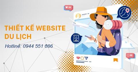 Thiết kế Website du lịch tại Thiên Minh