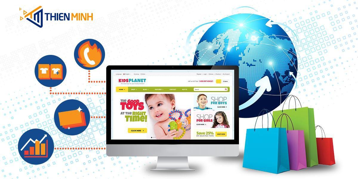 dịch vụ thiết kế website Thiên Minh