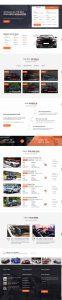 Thiết kế website mua bán xe hơi tại Thiên Minh