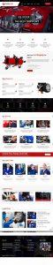 Mẫu thiết kế website sửa xe ô tô tại Thiên Minh
