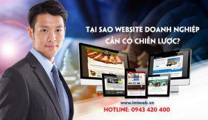 Vì sao website doanh nghiệp cần có chiến lược?