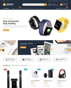 Giao diện Shop Thiết bị Điện tử TMi_Elec_13001