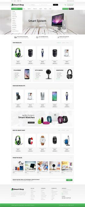 Mẫu Giao diện Shop Thiết bị Điện tử TMi_Elec_13004
