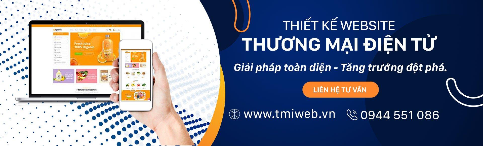 Thiết kế website thương mại điện tử tại Thiên Minh