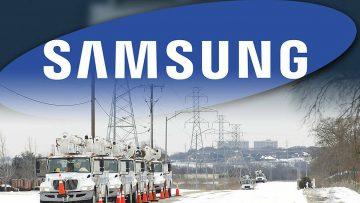 Samsung dừng nhà máy sản xuất chip tại Mỹ