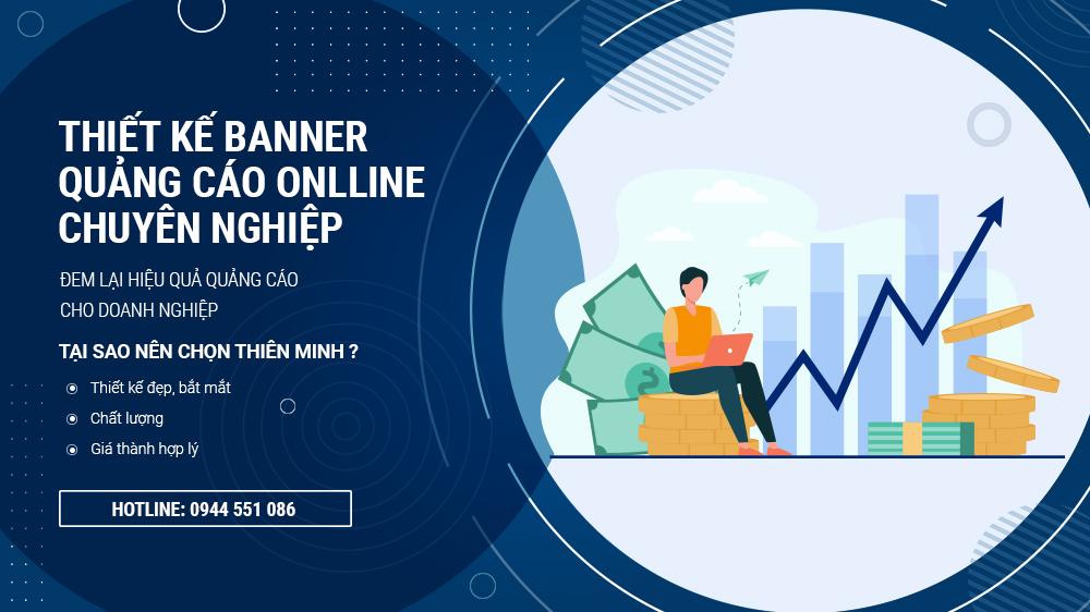 Thiết kế banner quảng cáo online giá rẻ