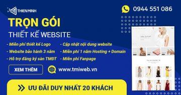 Ưu đãi trọn gói thiết kế website khởi nghiệp