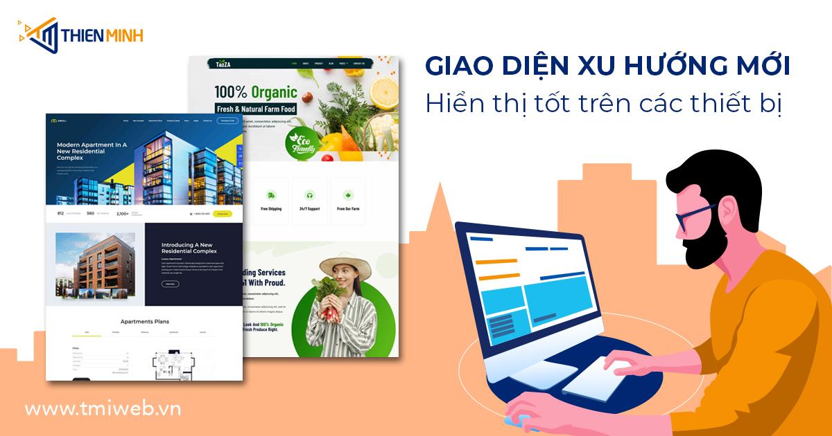 Dịch vụ thiết kế website tại Thiên Minh luôn đảm bảo chất lượng !
