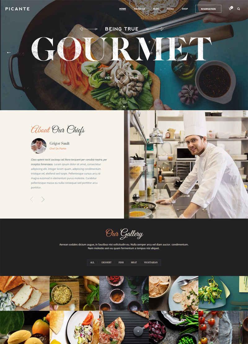Tham khảo 7 mẫu giao diện website nhà hàng nổi bật